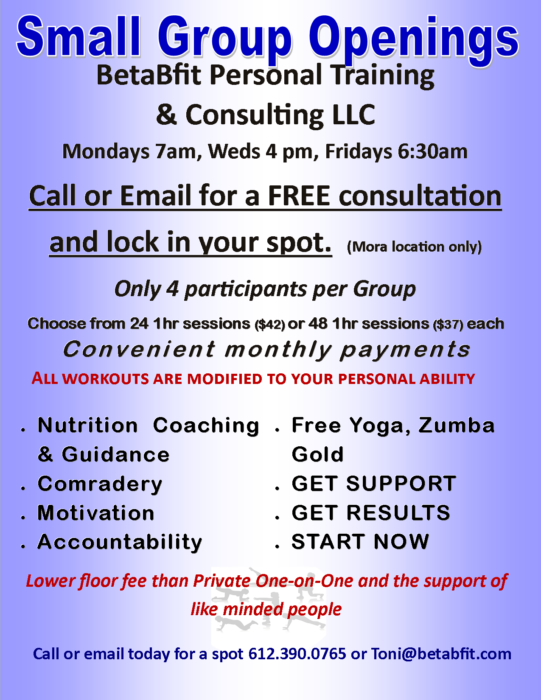 Blog Toni Fulton Afaa Certified Personal Trainer